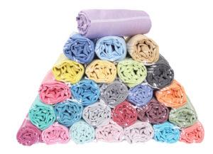 Strandtücher in verschiendenen Farben